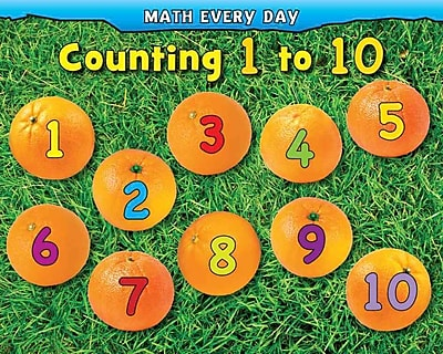 Counting 1 to 10 (Math Every Day)