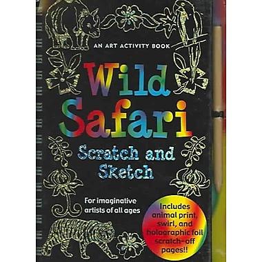 Wild Safari Scratch And Sketch