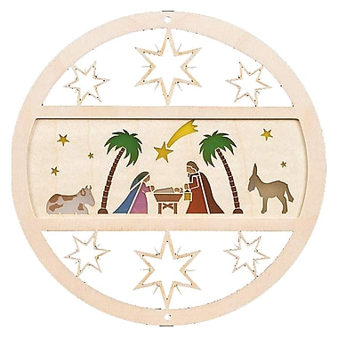Alexander Taron Nativity Ornament