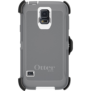 Otterbox 7738798 Defender GS5 Phone Case, White/Grey