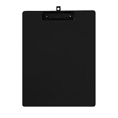Geo – Planchettes en plastique, format lettre, 9 x 12 po, noir, 12 par paquet