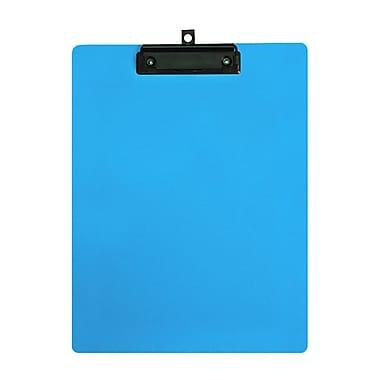 Geo – Planchettes en plastique, format lettre, 9 x 12 po, bleu clair, 12 par paquet