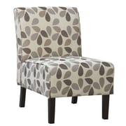 !nspire - Chaise d'appoint surdimensionnée en tissu, beige