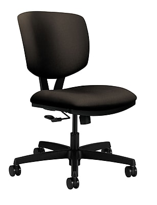 HON Volt Wood Computer and Desk Office Chair, Armless, Espresso (HON5721HCU49T)