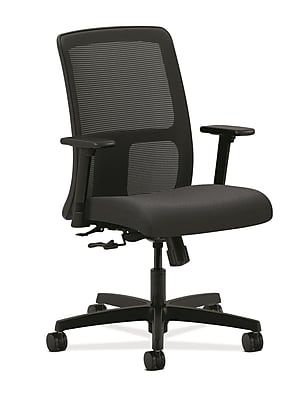 HON® Ignition® Mesh Low-Back Office/Computer Chair, Charcoal