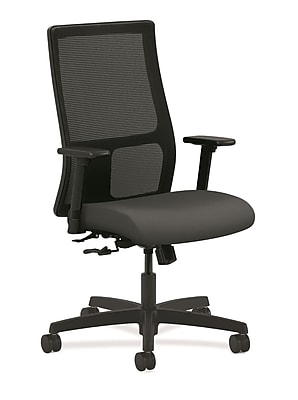 HON® Ignition® Mesh Mid-Back Office/Computer Chair, Iron Ore