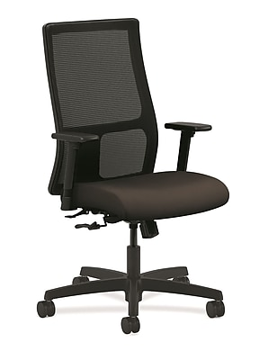 HON® Ignition® Mesh Mid-Back Office/Computer Chair, Espresso