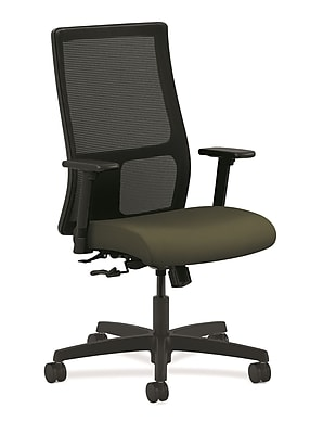 HON® Ignition® Mesh Mid-Back Office/Computer Chair, Olivine