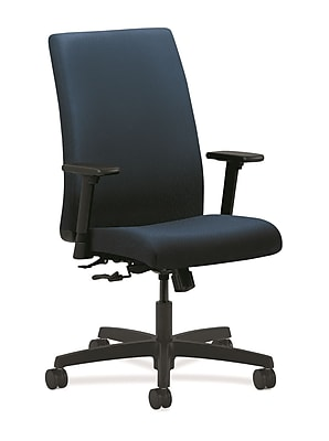 HON® Ignition® Mid-Back Office/Computer Chair, Adjustable Arms, Tectonic Mariner
