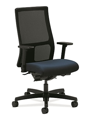 HON® Ignition® Mid-Back Office/Computer Chair, Arms, Mariner