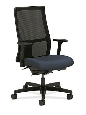 HON® Ignition® Mid-Back Office/Computer Chair, Arms, Ocean