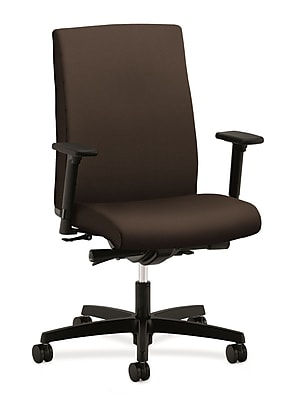HON® Ignition® Mid-Back Office/Computer Chair, Arms, Espresso