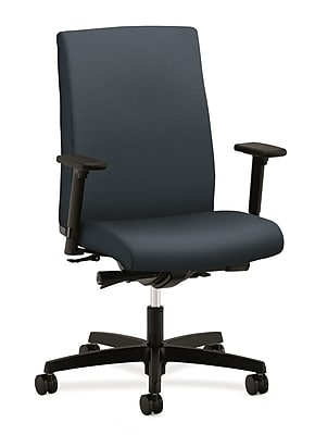 HON® Ignition® Mid-Back Office/Computer Chair, Arms, Cerulean