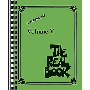 The Real Book - Volume V: C Edition (Real Books (Hal Leonard))