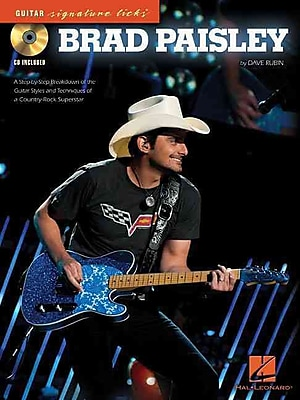 Brad Paisley-Guitar Signature Licks (CD/Pkg)