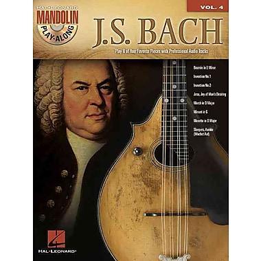 J.S. Bach: Mandolin Play-Along Volume 4 (Book/CD)