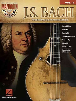 J.S. Bach: Mandolin Play-Along Volume 4 (Book/CD)