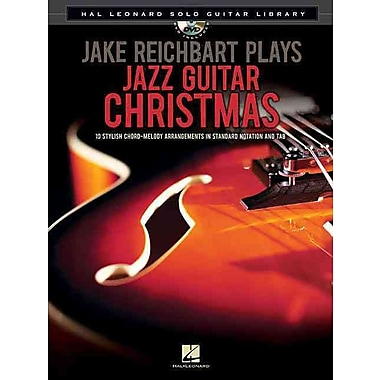 Jake Reichbart Plays Jazz Guitar Christmas: Hal Leonard Solo Guitar Library (Book/DVD)