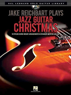 Jake Reichbart Plays Jazz Guitar Christmas: Hal Leonard Solo Guitar Library (Book/DVD)
