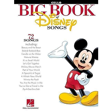 The Big Book of Disney Songs - Cello (Book Only)