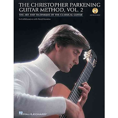 The Christopher Parkening Guitar Method - Volume 2: Intermediate to Upper-Intermediate Level Book/CD Pack