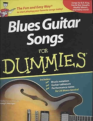 Blues Guitar Songs for Dummies