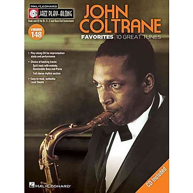 John Coltrane Favorites: Jazz Play-Along Volume 148 (Book/CD) (Hal Leonard Jazz Play-Along)