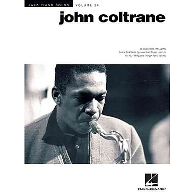 John Coltrane: Jazz Piano Solos Series Volume 24