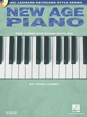 New Age Piano: Hal Leonard Keyboard Style Series (Book/CD)