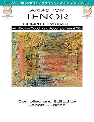 Arias for Tenor - Complete Package: with Diction Coach and Accompaniment CDs (G. Schirmer Opera Anthology)