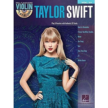 Taylor Swift - Violin Play-Along Volume 37 (Book/CD)