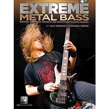 Extreme Metal Bass (Book/CD)