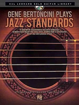Gene Bertoncini Plays Jazz Standards - Hal Leonard Solo Guitar Library (Book/CD)