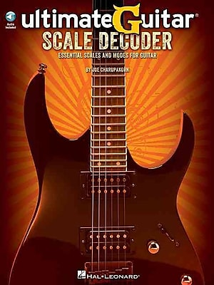 Ultimate-Guitar Scale Decoder: Essential Scales and Modes for Guitar (Book/CD)