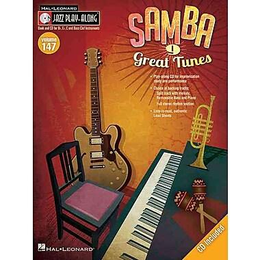 Samba: Jazz Play-Along Volume 147 (Book/CD)