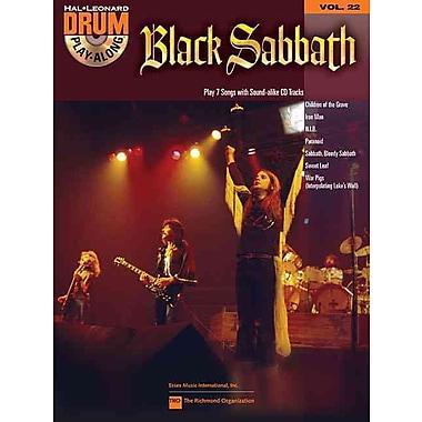 Black Sabbath: Drum Play-Along Volume 22 (Book/CD)