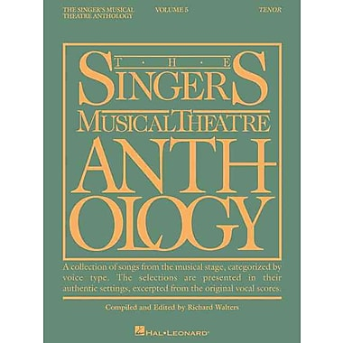 Singer's Musical Theatre Anthology Tenor Vol.5 SMTA