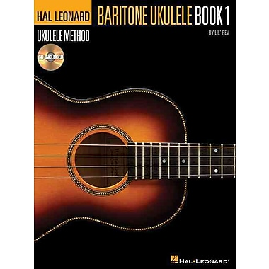 Hal Leonard Baritone Ukulele Method Book 1 Book/CD