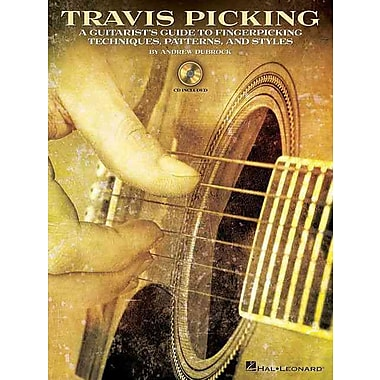 Travis Picking -Instructional Guitar Book/Cd