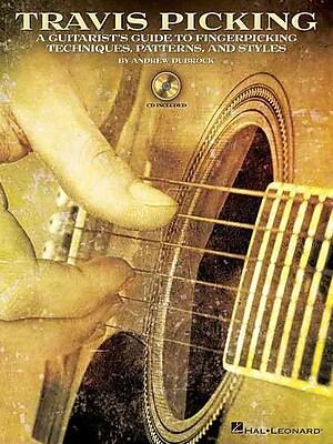 Travis Picking -Instructional Guitar Book/Cd