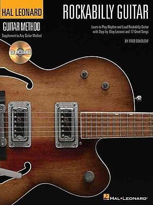Rockabilly Guitar - Stylistic Supplement To The Hal Leonard Guitar Method Bk/Cd