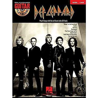 Def Leppard - Guitar Play-Along Volume 145 (Book/Cd)