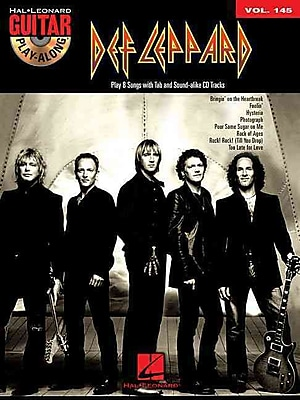 Def Leppard - Guitar Play-Along Volume 145 (Book/Cd)