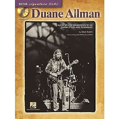 DUANE ALLMAN - GUITAR SIGNATURE LICKS (CD/PKG)