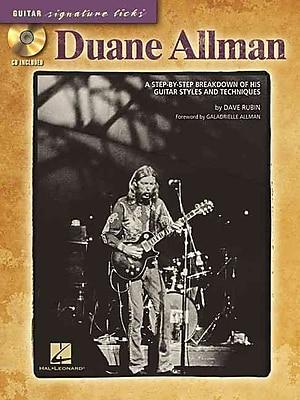 DUANE ALLMAN - GUITAR SIGNATURE LICKS (CD/PKG)