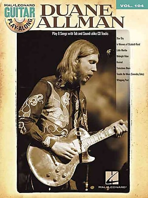 Duane Allman: Guitar Play-Along Volume 104