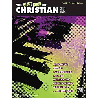 The Giant Book of Christian Sheet Music: Piano/Vocal/Guitar (Giant Sheet Music Collection)