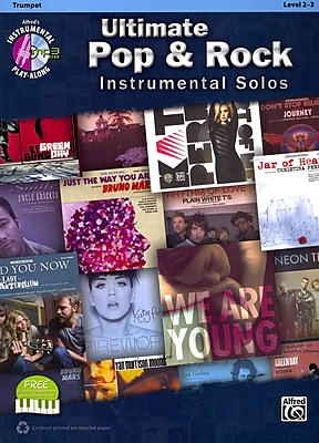 Ultimate Pop Instrumental Solos: Trumpet (Book & CD) (Ultimate Pop & Rock Instrumental Solos: Instrumental Play-Along)