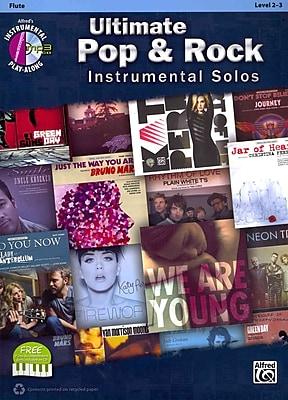 Ultimate Pop Instrumental Solos: Flute (Book & CD)