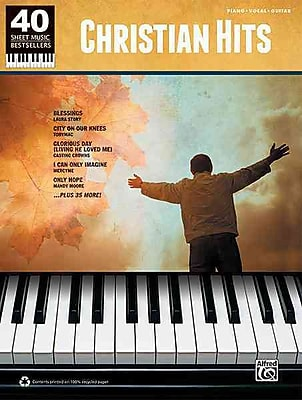 40 Sheet Music Bestsellers -Christian Hits
